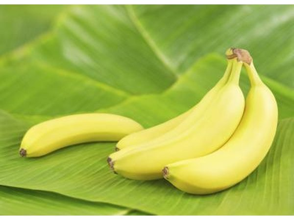 bananas are a good source of fiber