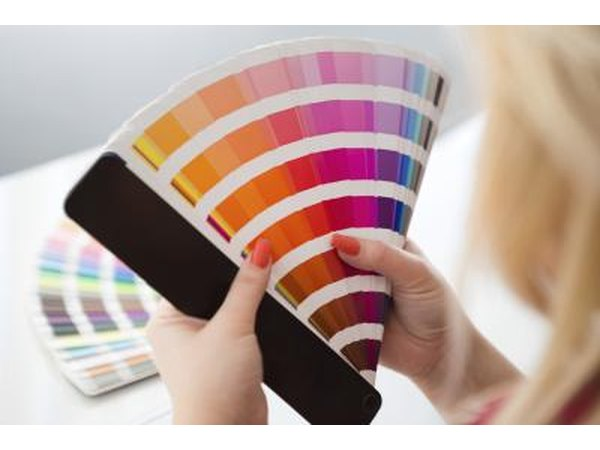 Use paint chips or a color wheel to determine your palatte.