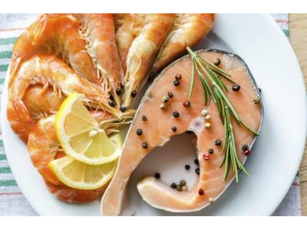 Fish oil is derived from fish like salmon.
