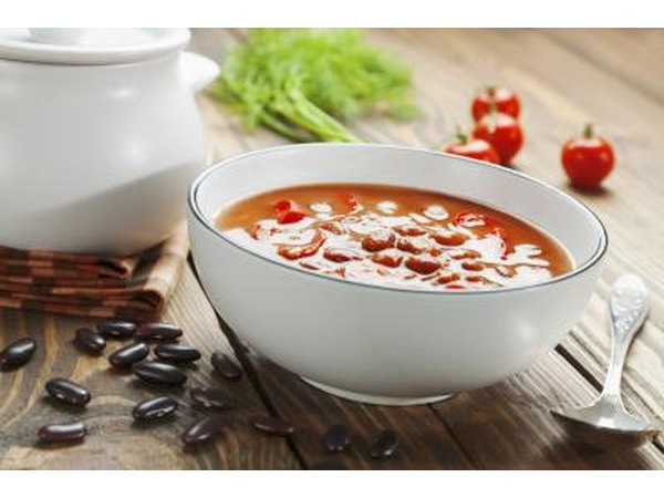 Soup with legumes