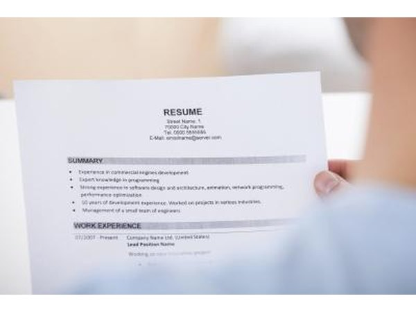 Give your resume to a friend and have him look it over.