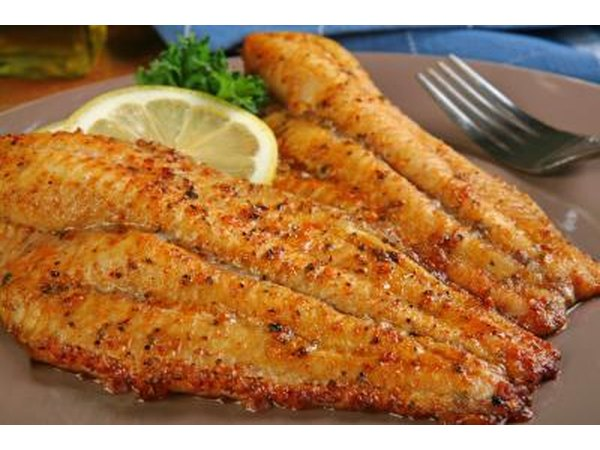 Catfish fillets seasoned with cajun spices