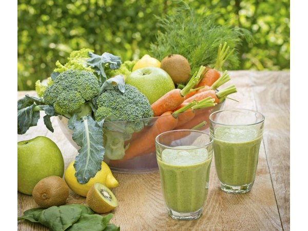 Two vegetable based smoothies