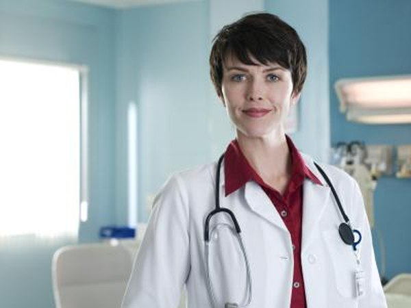 Female doctor.
