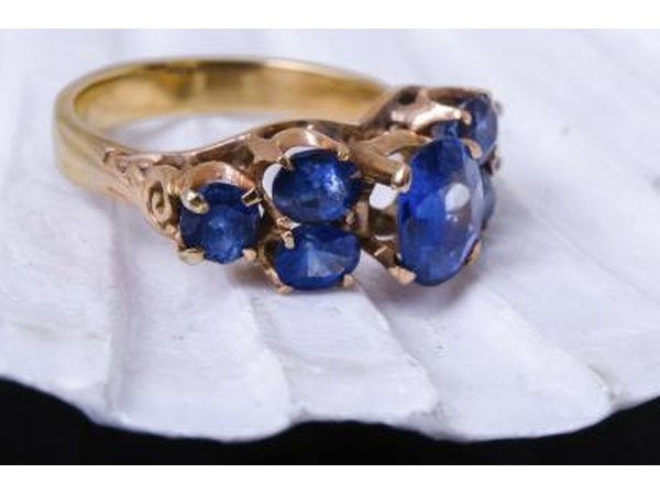 Sapphires symbolize romantic love.