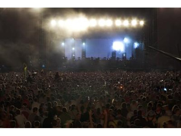 Exposure to loud noises such as a concert can damage the ear drum.