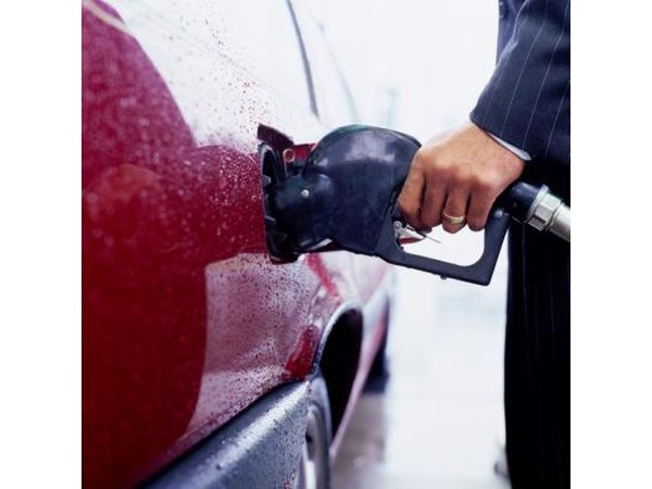 Diesel fuel in a car results in much better fuel mileage.
