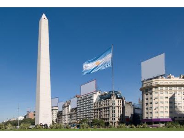 The Obelisk in Argentina