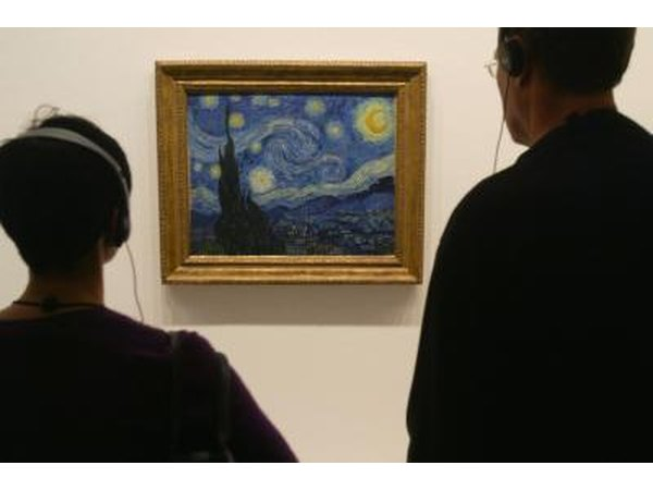"""Starry Night"" on view at museum"