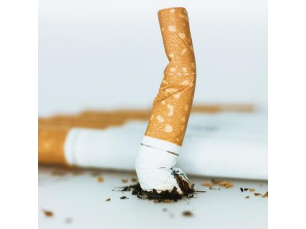 It is strongly recommended that you quit smoking or never start at all.