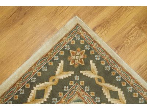 Many different types of rugs work on laminate floors.