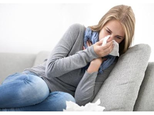Colds cause a stuffy nose.