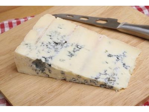 Gorgonzola is a member of the blue cheese family of cheeses.
