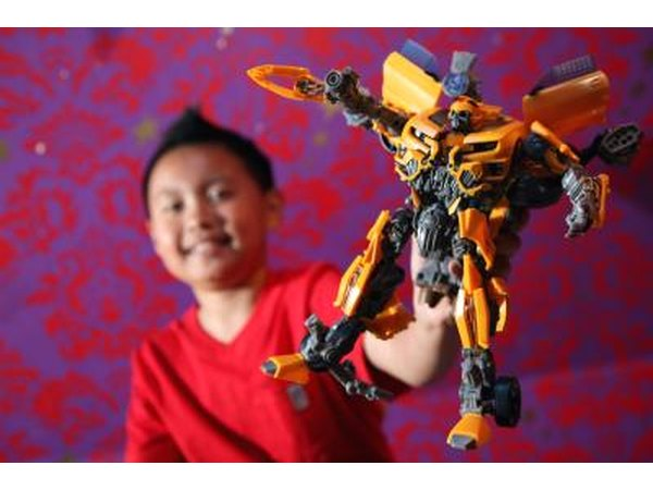 Transformers are popular with young boys.