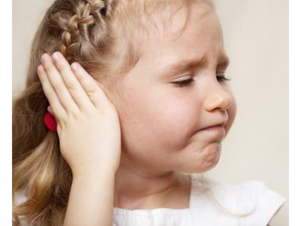 Ear infections that cause temple pain may be related to both bacteria and viruses.