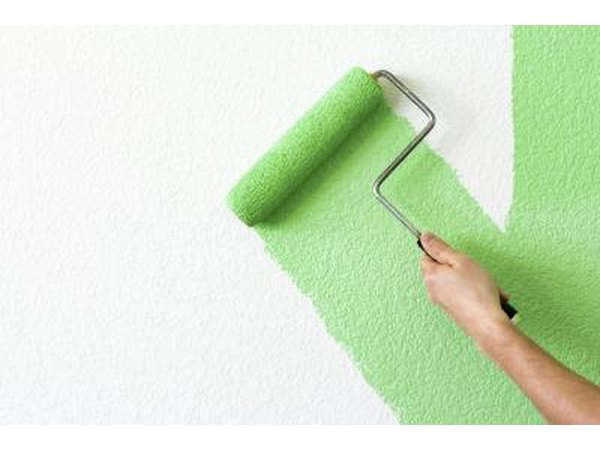 Green paint may look good with a green carpet or furniture.