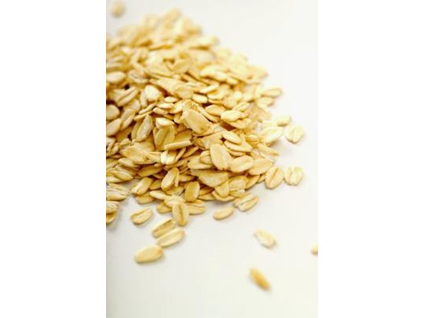 Rolled Oats close- up
