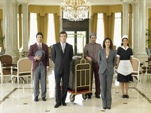 Hotel housekeeping also consists of supervisors and managers that will be in charge of hiring and training personnel