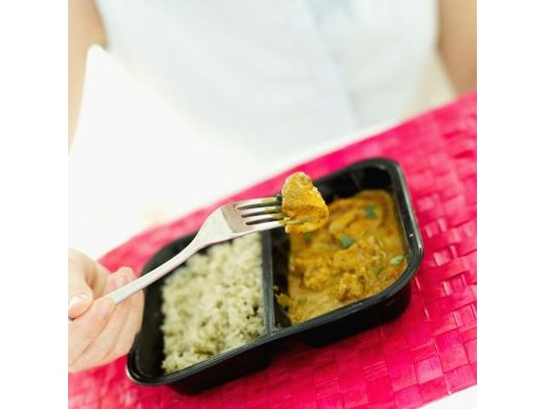 Foods such as frozen dinners are high in sodium.