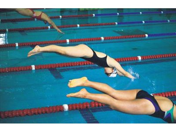 Swimmers often have yeast infections in the ears.