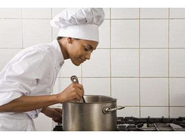 Most catering directors have taken classes in food service and hospitality.