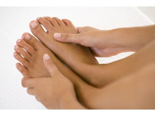The 'tingly' sensation of numb feet can be irritating.