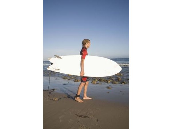Surfing lessons can be a very cool gift for a 17-year-old boy.