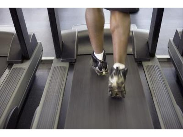 A treadmill is a good alternative to running in the rain.