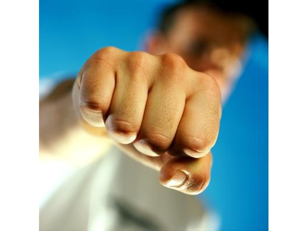 Before throwing a proper punch, learn to ball your fist correctly.