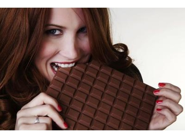 Chocolate contains antioxidants.