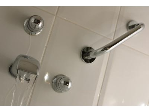 Railing in shower