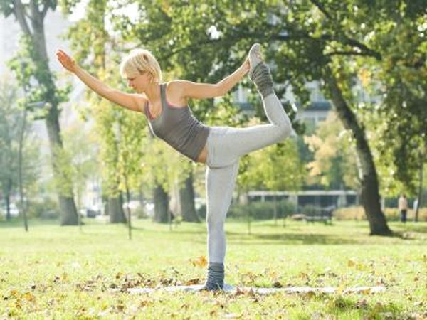 Doing yoga can increase your muscle tone.
