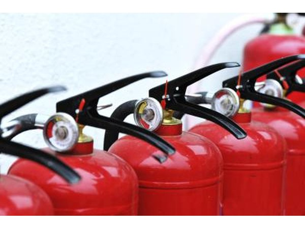 There are five types of fire extinguishers in the US.