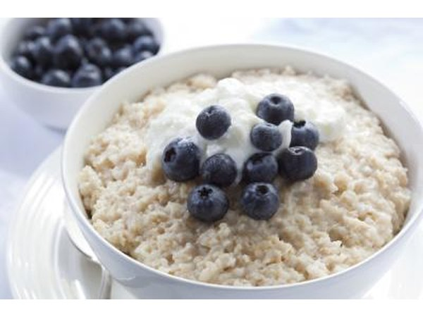 Eat a high fiber breakfast