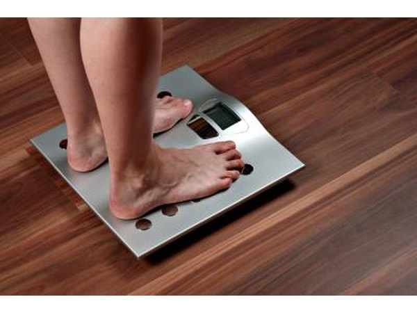 Weigh yourself without your clothes when you wake up.