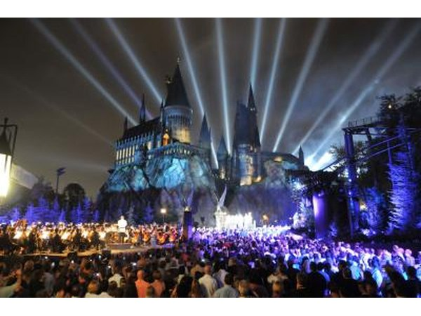 The Wizardly World of Harry Potter at Universal Orlando Resort, FL.