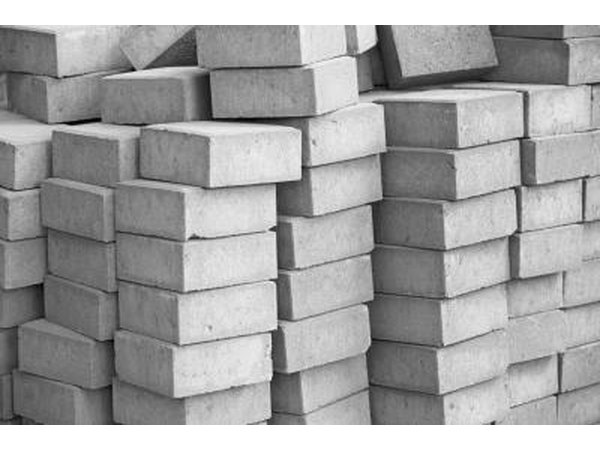 Pile of concrete blocks