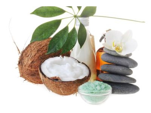 Coconut oil can help with many beauty treatments