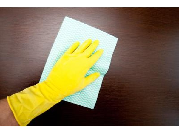 Use rubber gloves.