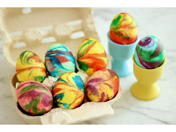 These ones might be the most fun to create with messy, colorful shaving cream.