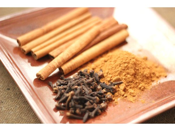 Cinnamon and cloves add a delicious scent