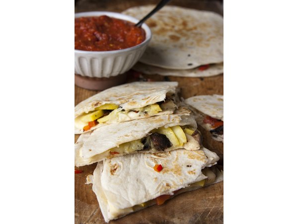 How to Make Roasted Squash and Portobello Mushroom Quesadillas
