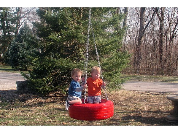 Kids young and old will love this swing.
