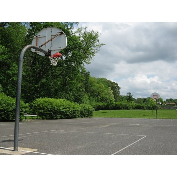 How To Build A Backyard Basketball Court Healthfully