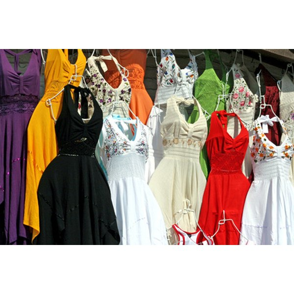 Variety of empire waist dresses