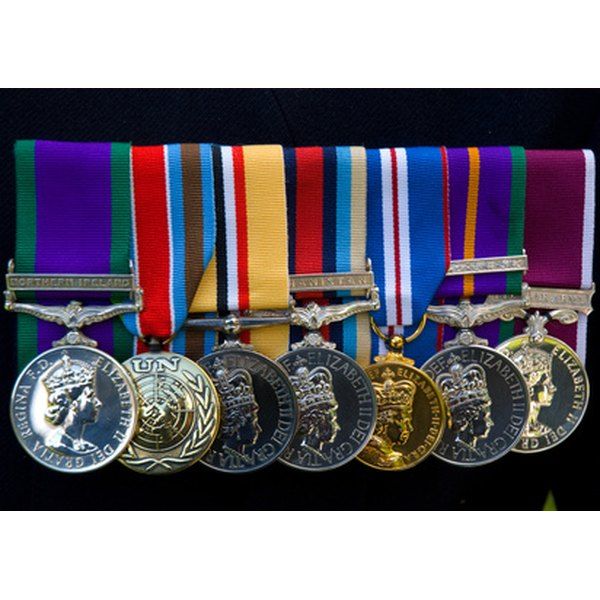 World War II medals remind us of courage, bravery and sacrifice.