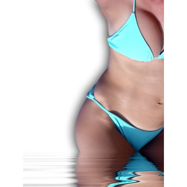 Preventing razor burn bikini line that