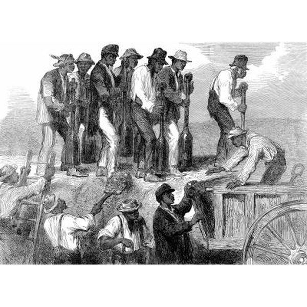 a history of the civil war and the elimination of slavery in america Slavery: cause and catalyst of the civil war african slavery was central to the development of british north america although slavery existed in all 13.