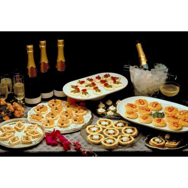 Th Anniversary Party Food Ideas