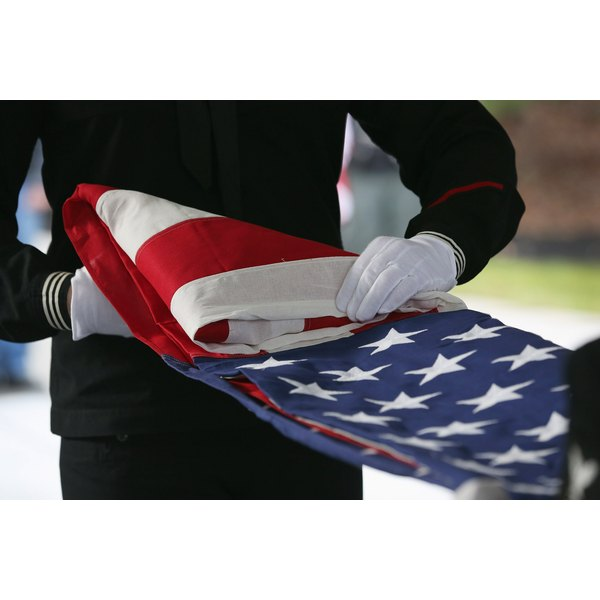 Funeral Held For Vietnam War Veteran Killed In Hurricane Sandy